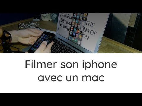 Filmer son Iphone/Ipad avec un mac gratuitement et sans Jailbreak