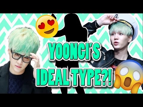 BTS YOONGI IDEAL TYPE OF GIRL (skinship,sexy info,Ideal date, and more!)