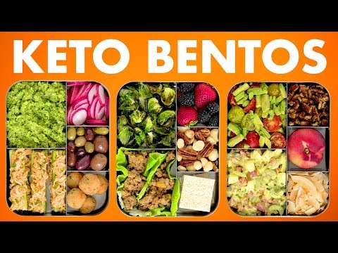 Low Carb Bento Boxes! Healthy Keto Recipes! - Mind Over Munch