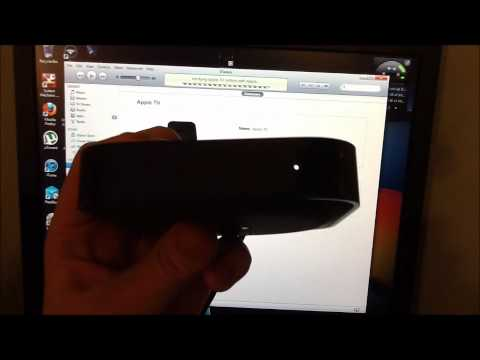 How to restore an Apple tv on computer
