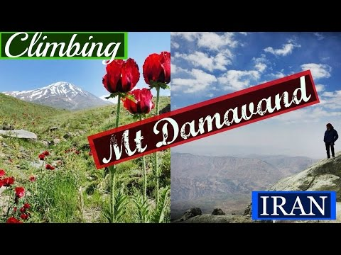 IRAN | Mt Damavand | Travel Vlog