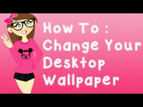 How To Change Your Desktop Background ~KaylaEditGirl