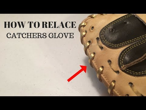HOW TO RELACE - Catchers Glove Outer Heel