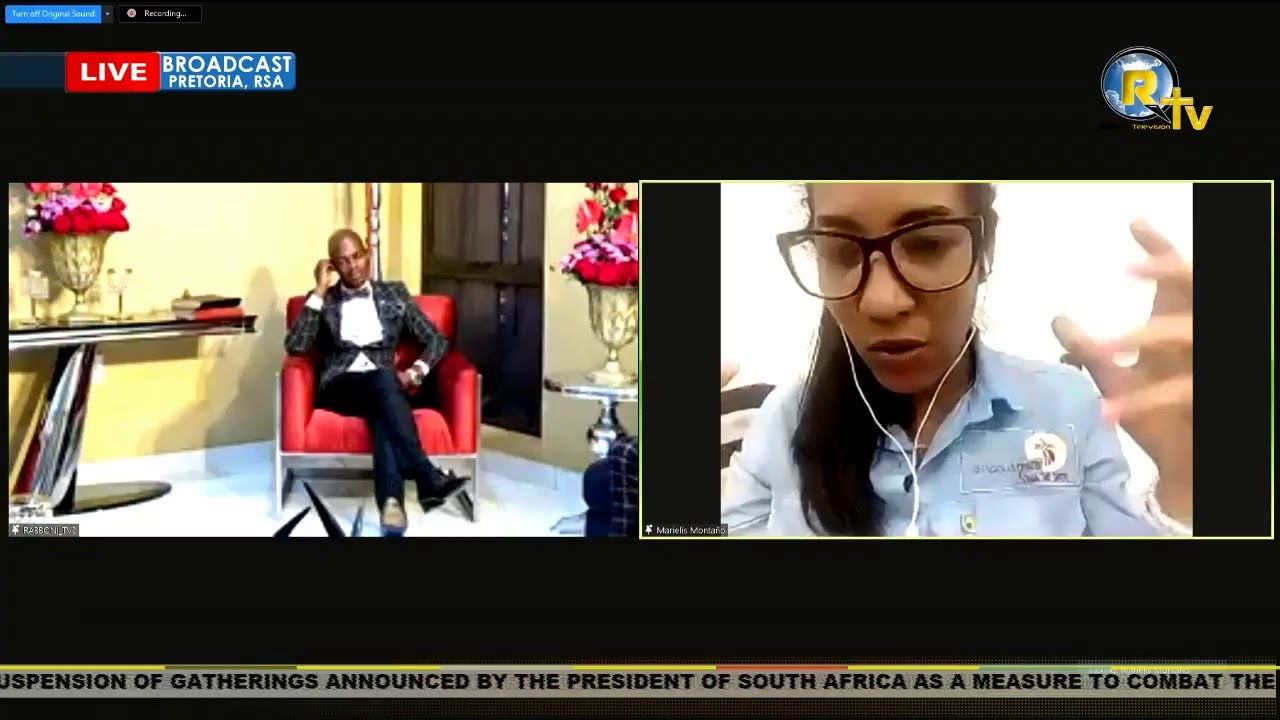 27 FEBRUARY 2021 SATURDAY INTERNATIONAL SERVICE LIVE BROADCAST WITH PROF. LESEGO DANIEL... PART 1
