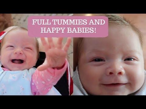 HAPPY BABIES AND FULL TUMMIES!
