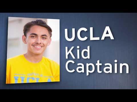 Kid Captain Nathan | UCLA Mattel Children's Hospital