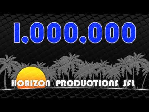 Channel Update! 1,000,000 VIEWS! 8/16/17