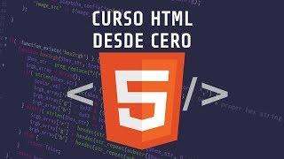 Curso HTML para Principiantes