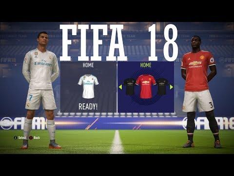 FIFA 18 - Real Madrid vs Manchester United