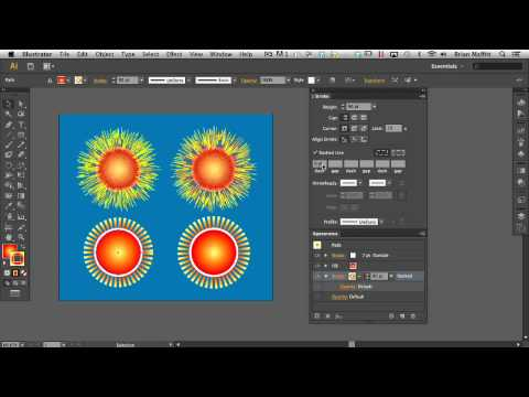Creating & Working with Patterns in Adobe Illustrator CS6