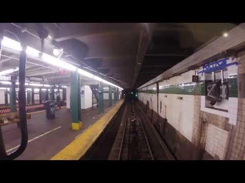 NYC Subway Holiday Nostalgia Train - 2nd Ave to Rockefeller Center