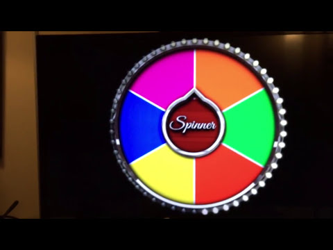 DIY Spinner Prize Wheel
