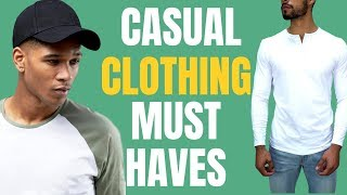 5 Casual Clothing Pieces ALL Men Should Own (Athleisure)