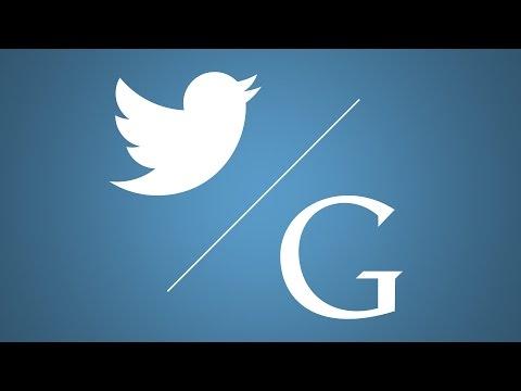 Google's first tweet ever was ?