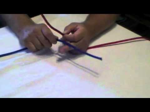How to tie a Reef Knot