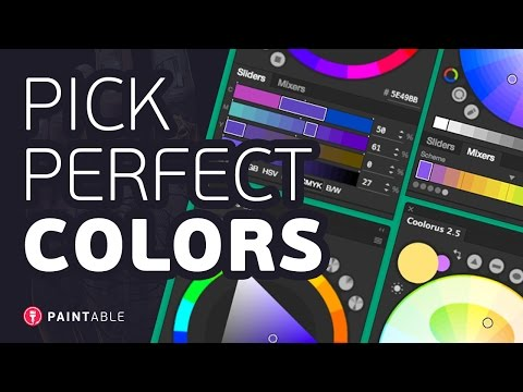 Coolorus Tutorial & Review: How to Pick PERFECT Colors in Photoshop