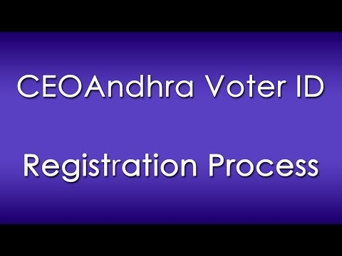 How to Register for Voter ID Card through Online