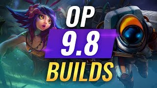 11 OP Korean Builds and Champions in Patch 9.8 - League of Legends Season 9