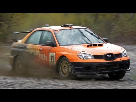 Rally Racing 101 in the Subaru WRX STI! - The J-Turn Episode 8