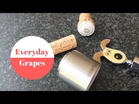 How to store an open wine bottle?