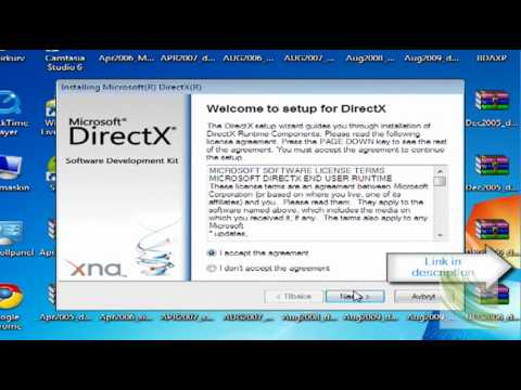 How to download directX 9.0c