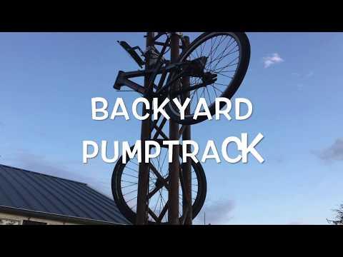 BACKYARD PUMPTRACK MONTAGE! #1
