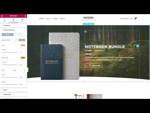 Use WooCommerce and Elementor - Kadence Themes