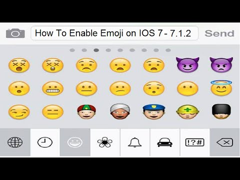 How to Enable Emoji Keyboard on IOS