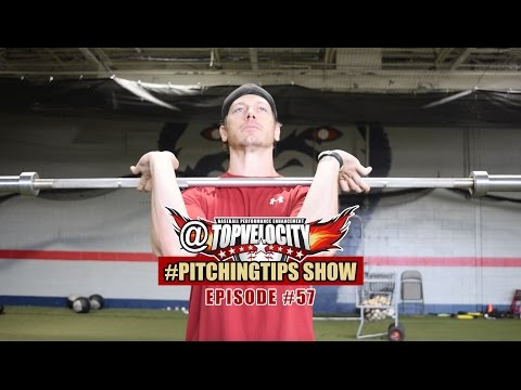 How to improve max power clean for the pitcher Ep57 @TopVelocity #PitchingTips Show