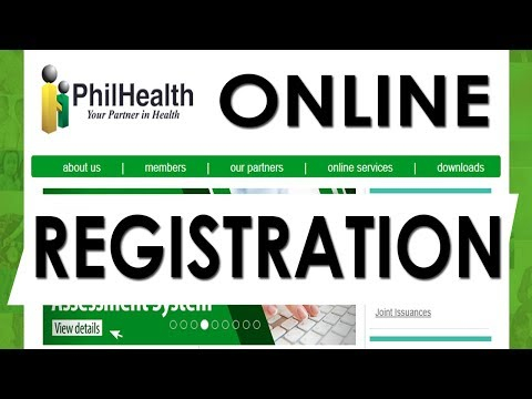 Philhealth Online Registration - How to Check Contributions