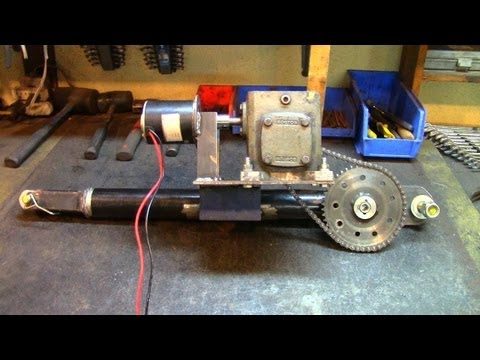 Part 2: Electric Utility Hoist/Engine Hoist (Gearbox Mounting)