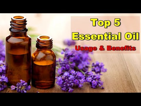 TOP 5 ESSENTIAL OIL USAGE & BENEFITS FOR SKIN & HAIR