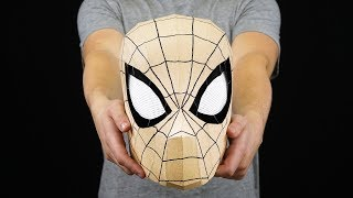 DIY Spider-Man Mask with Moving Eyes