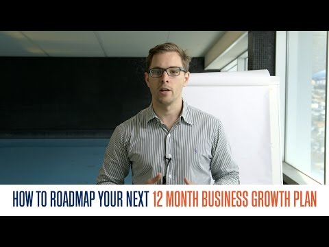 How to Roadmap Your Next 12 Month Business Growth Plan