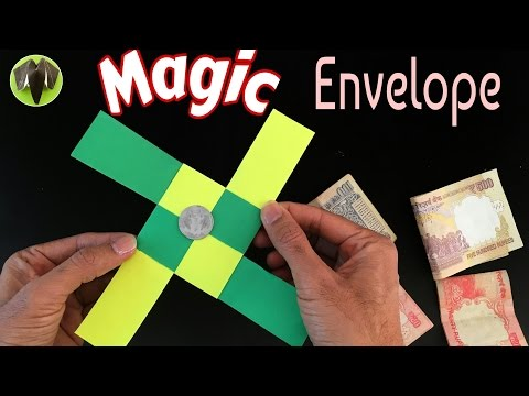 MAGIC ENVELOPE (TRICK) - DIY Tutorial by Paper Folds ❤️