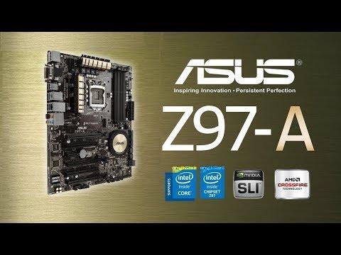 Motherboard Asus Z97-A Gaming LGA 1150 Intel Z97  Review Bios Test Windows 10 Español