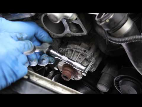 Replacing the water pump and thermostat on most 6-cylinder BMWs 91 thru 05 (M50 thru M56, S50, S52)