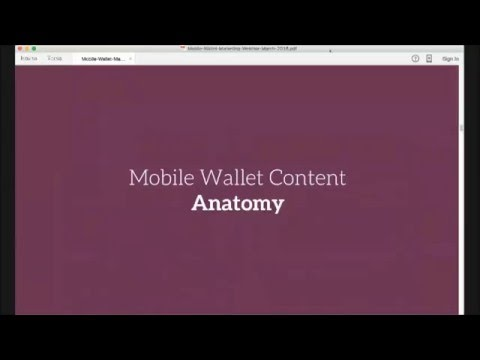 Mobile Wallet Anatomy: Design a Marketing Campaign with CherryPie