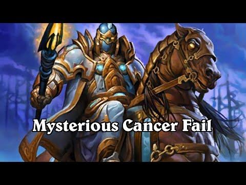 hearthstone mysterious cancer fail plays