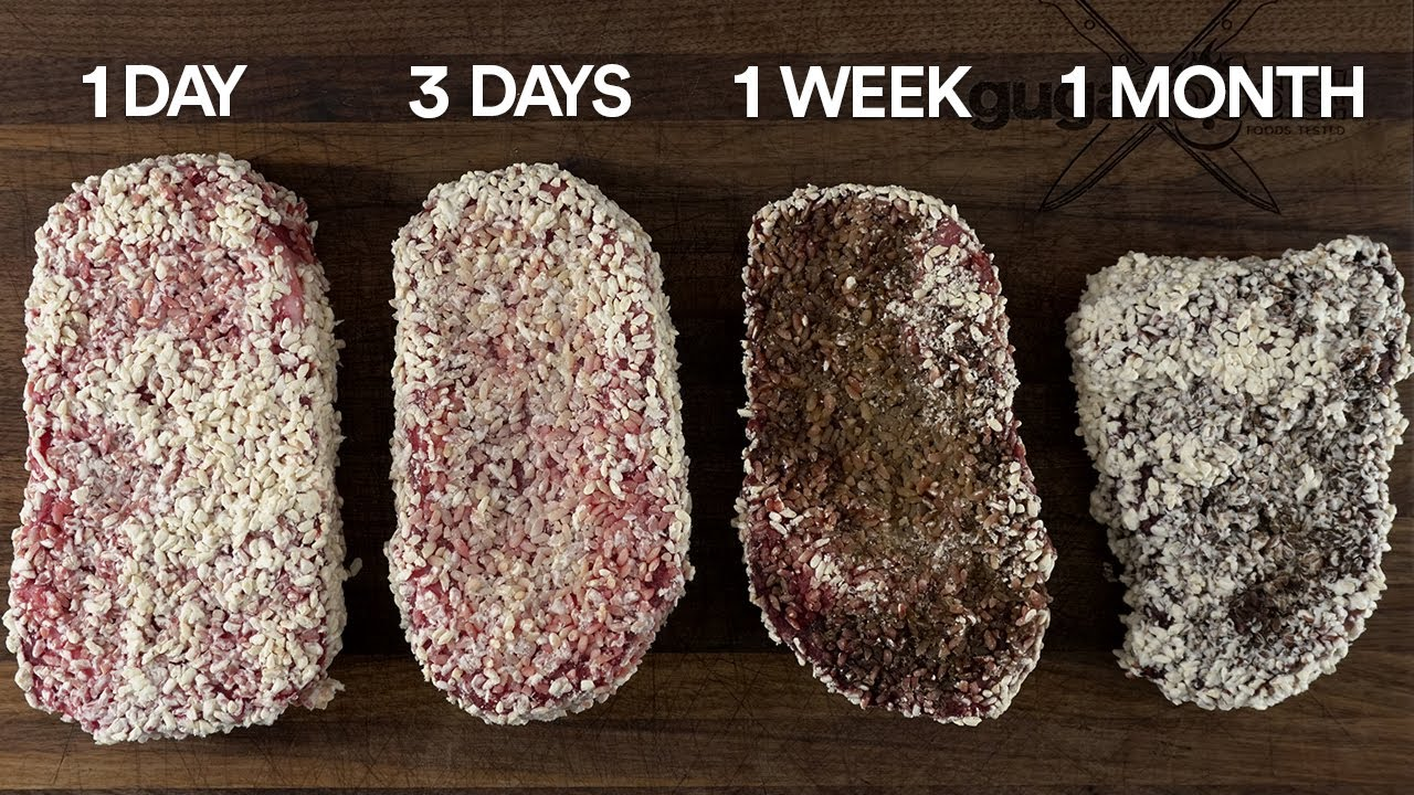 I used a Special JAPANESE FUNGUS to dry-age steaks FASTER!