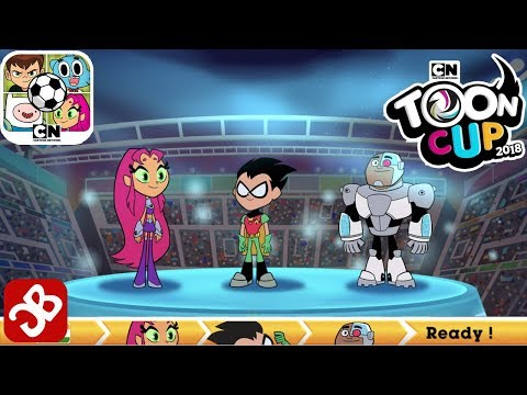 Toon Cup 2018 - Football Game with Robin, Cyborg and Starfire (Teen Titans Go! team)