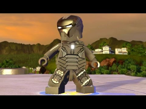 LEGO Marvel's Avengers - Iron Man (Mark 40) Unlock + Free Roam (Character Showcase)
