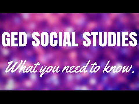 GED Social Studies | What You Need to Know | GED Test Guide