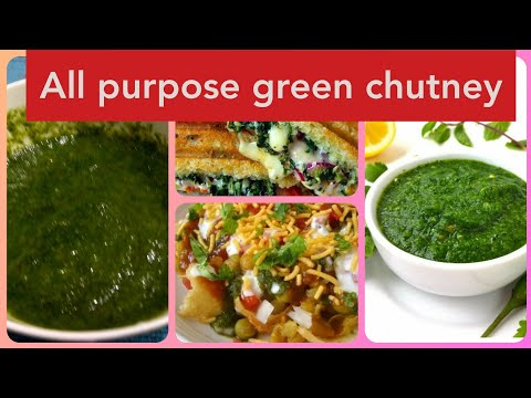 How to make green chutney at home