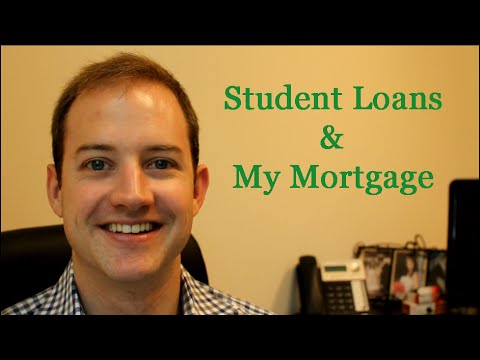 How student loans affect mortgage qualification