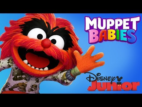 Muppet Babies Animal | Learning Puzzles, Fun Baby Mini Games  | Disney Junior App For Kids