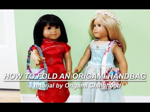 How to Fold an Origami Handbag
