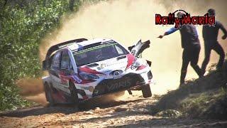 WRC Vodafone Rally de Portugal 2017 - FLAT OUT & SHOW [HD]