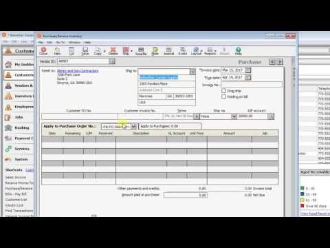 Sage 50 - Work Around for Narrow Item ID Columns