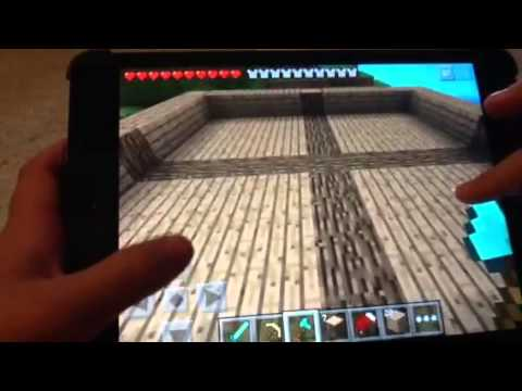 How to build a wooden house in minecraft pe part 2